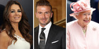Elizabeth Hurley and the Queen are among the winners and David Beckham is among the losers. Photo / Getty Images