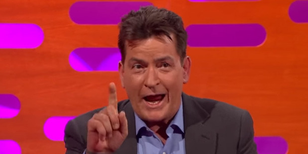 Charlie Sheen took great delight in dishing the dirt on Trump.