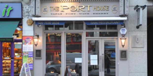 The Port House tapas bar where the trouble began for Khan. Photo / Google