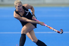 Stacey Michelsen scored the only goal in the Black Sticks' 1-0 win over Great Britain. Photo / Getty