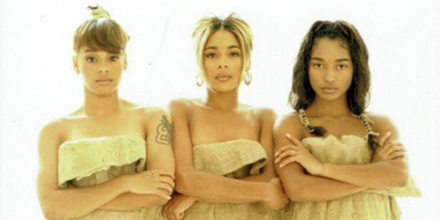 "Lisa ""Left Eye"" Lopes, Tionne ""T-Boz"" Watkins, and Rozonda ""Chilli"" Thomas made up TLC. Photo / Kickstarter"