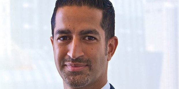 Sanjay Valvani, 44, was found dead by his wife in an apparent suicide. Photo / Duke Fuqua School of Business