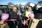 Te Whare Tauranga opens ready for three homeless families to move in on Sunday.
