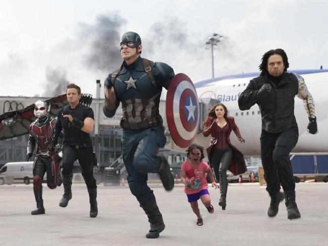 Escaping danger in the Avengers. Photo / WetCoastLife, imgur