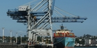 Maersk says the existing port does not have the land area to handle future growth. Photo / Greg Bowker