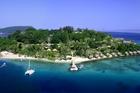Iririki Island Resort just offshore from the Vanuatu capital of Port Vila. Photo / Supplied