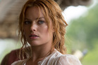 Margot Robbie as Jane in the new Tarzan movie. The Australian actress has revealed she shares a flat in London.