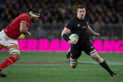 All Blacks rookie loose forward Liam Squire. Photo / Brett Phibbs