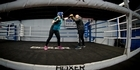 Watch: Ruth Dacey tries boxing