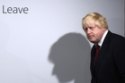 Boris Johnson could be the UK's new leader. Photo / AP