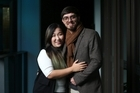 Pictured are Zoe Li and fiance Reza Razavi. The couple are getting married on Jan. 7 because they believe it is auspicious. 29th June 2016 New Zealand Herald Photograph by Doug Sherring