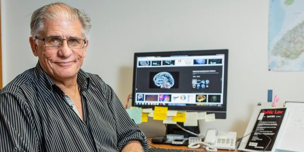 Project leader Professor Robin Palmer, University of Canterbury's director of Clinical Legal Studies. Photo / Supplied