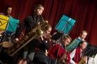 John Paul College Jazz Band performance.