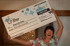 Lottery winner Diana De Gilio, won one million pounds in the English National Lottery.