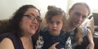 Kellie and Tom Mulgrew, and their daughter Jessica, 4, were helped by the Waitakere agency when the new mother started having epileptic seizures and Jessica was diagnosed with autism.