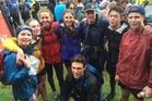 The Havelock/Napier team of Polly Cavanagh (left), Carolyne Nel, Jenna Tidswell, Emily Dunn, Zane Shadbolt, Kaiyin Hardy and Thomas Culham, and Dylan Kirk (front). Photo / Fiona Goff