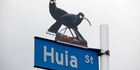 Conservation comment: Huia award for eco vandals