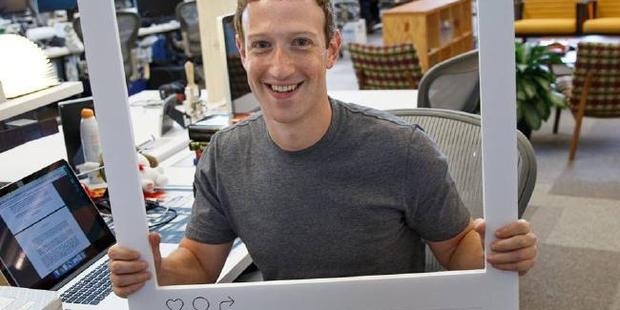 Working at Facebook was like being in a cult with founder Mark Zuckerberg its unquestioned leader, a new book claims. Photo / Supplied