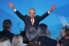 Malcolm Turnbull received a resounding vote of confidence from Australia's leading newspapers. Photo / AP