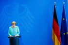 German Chancellor Angela Merkel speaks to the media following the United Kingdom's referendum vote to leave the European Union. Photo / Getty Images