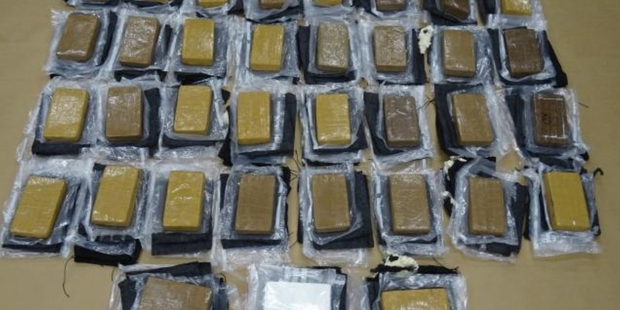 Loading A joint Customs and Police investigation has resulted in the largest-ever seizure of cocaine in New Zealand, worth an estimated street value of $14 million NZ dollars. Photo / NZ Police