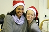 Rea Misra (left) and Steffi Preuss, from Harald's Bread, at the Mid-Winter Christmas Market. Photo / Paul Taylor