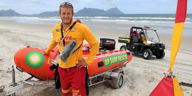 Ruakaka Surf Life Saving Club member Kyle Taylor was named the country's top regional lifeguard at Saturday's Surf Life Saving Northern Region Awards of Excellence.