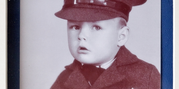 Dennis Marsh as a child. Photo/Supplied