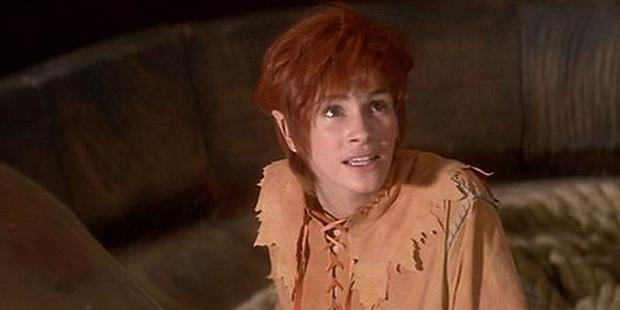 Julia Roberts starred as Tinkerbell in the movie Hook.