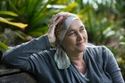Ms Kelly, who has lung cancer, maintains cannabis is the best drug available to help ease her pain. Photo / Brett Phibbs