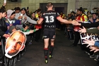 Simon Mannering was congratulated by fans on his 250th game. Photo / Photosport