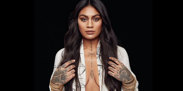 Award-winning New Zealand musician Aaradhna says she was subjected to racism while growing up. Photo/Facebook