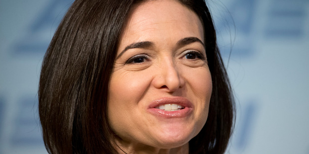 """Sheryl Sandberg's conference room became dubbed """"Only Good News"""", apparently because that is all she wanted to hear. Photo / AP"""