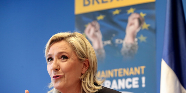French far-right leader Marine Le Pen. Photo / AP