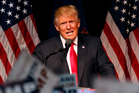 Republican presidential candidate Donald Trump. Photo / AP