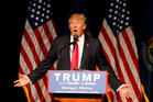 Republican presidential candidate Donald Trump says