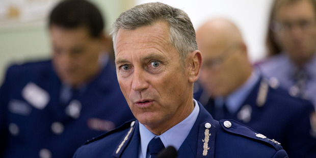 Police Commissioner Mike Bush has promised to look into the small rise in crime. Photo / Mark Mitchell