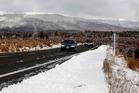Snow warning for Desert Rd
