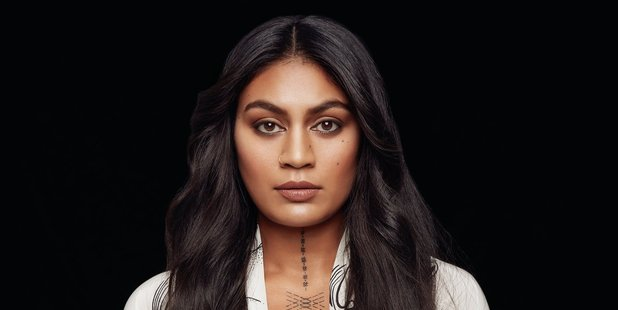 The cover art for Aaradhna's new album, Brown Girl.