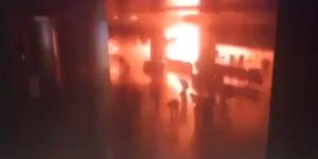 Loading CCTV footage of the explosion was posted on social media. Photo / Mahir Zeynalov