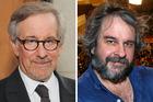 Directors Steven Spielberg and Peter Jackson. Photo / AP, NZH