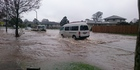 Flooding in Mangere. Photo / Supplied