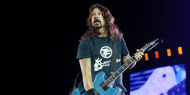 Finding the lyrics to your favourite Foo Fighters song is getting easier, as Google continues to devour the web. Photo / Getty