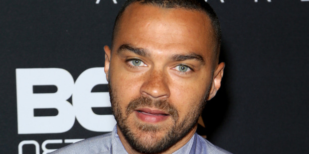 Actor Jesse Williams delivered a moving speech upon accepting the Humanitarian Award. Photo / Getty Images