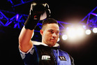 Joseph Parker waits to fight Kali Meehan. Photo / Getty