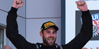 Shane van Gisbergen celebrates victory at the Bathurst 12 Hour Race. Photo / Getty Images