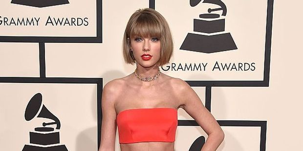 Taylor Swift has been known to rock a classic red lip. Photo / Getty Images