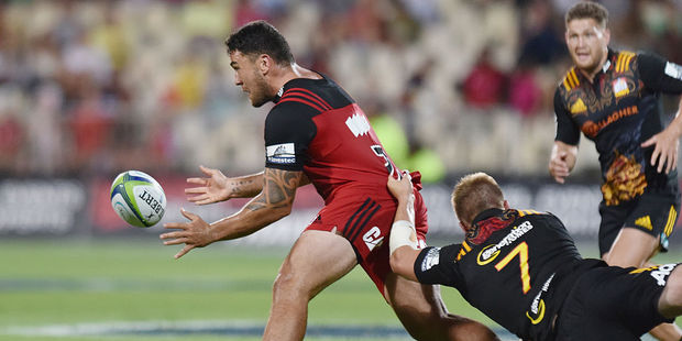 Codie Taylor, Sam Cane and Tawera Kerr-Barlow could all be in the mix for the clash in Suva. Photo / Getty