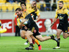 Dane Coles of the Hurricanes runs in for a try during the round seven Super Rugby match against the Jaguares at Westpac Stadium. Photo / Getty
