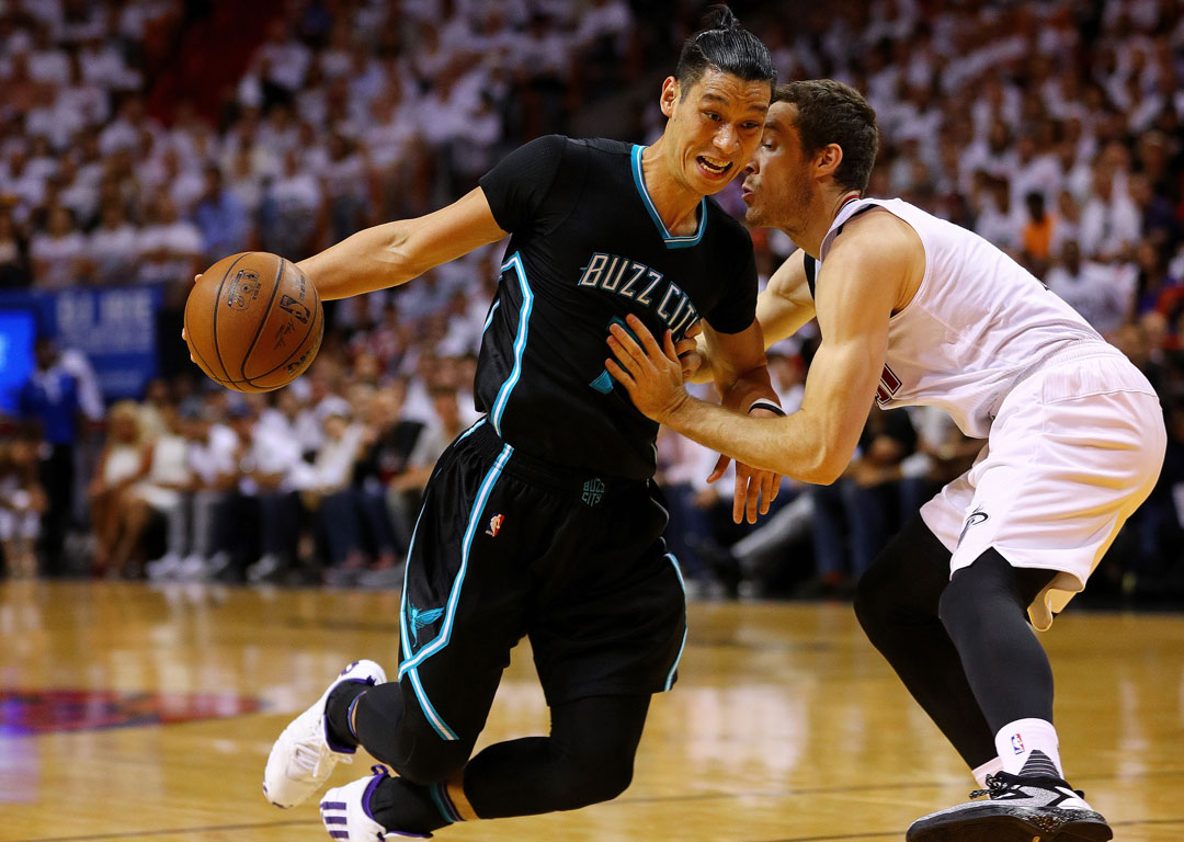 Jeremy Lin of the Charlotte Hornets. Photo / Getty